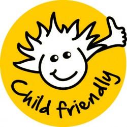 Barnsäkert solskydd